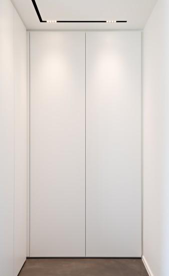 FB 1521 woning - edegem - maatwerk kastenwand dressing lighting