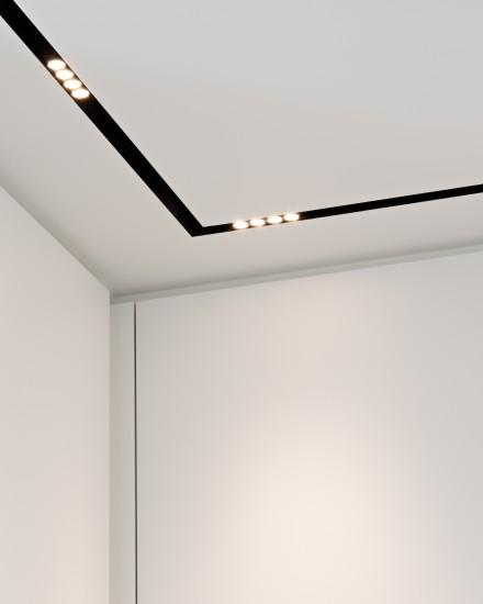 FB 1521 woning - edegem - detail light track inbouw spots