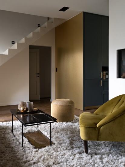 FB 1601 DESMET woning - living woonkamer open  kleur detail