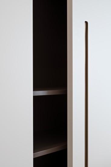 FB 1729 LAER appartement - knokke-heist - maatwerk dressing detail