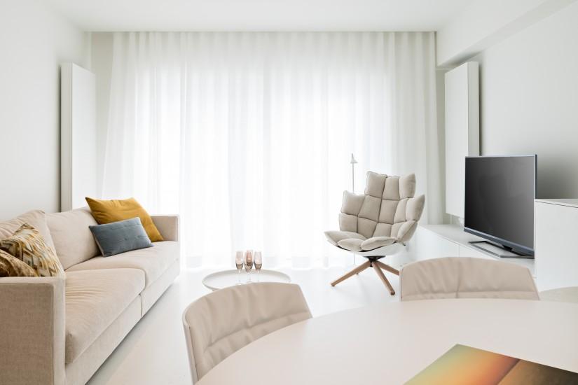 FB 1815 VLIEGER appartement - knokke-heist - meubels design furniture