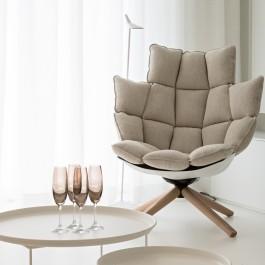 FB 1815 VLIEGER appartement - knokke-heist - licht wit beige meubels design